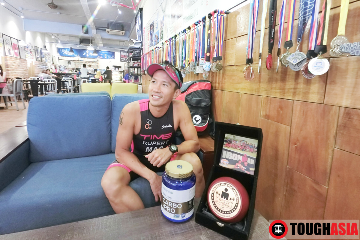 Pondering on his next foray at the Ironman Malaysia in Nov.