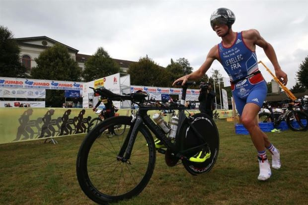 The heat is on Le Bellec in Powerman Asia Duathlon