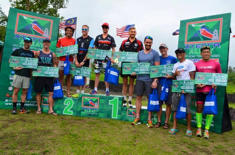 Barrys inaugural race as a Pro in Xterra Albay, Philippines.