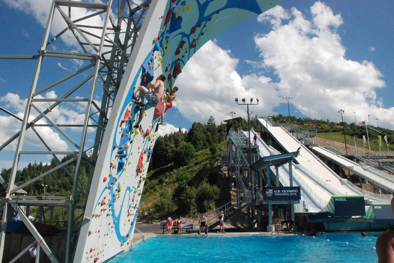 Make a big splash! © Utah Olympic Park