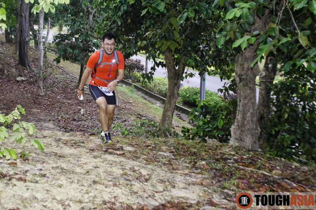 Running through trails within Berjaya Langkawi's compound