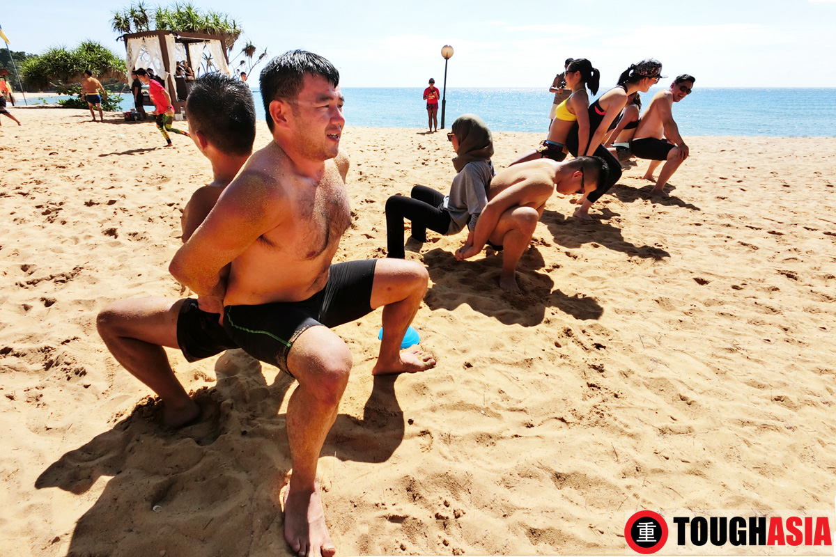 Switch up to a rigorous, energetic workout with Move Play on the beach.