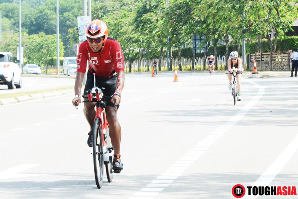 From Triathlon, you tend to develop a strong mindset to be focused, more alert and able to calm yourself quicker given a difficult situation - Dato Razlan