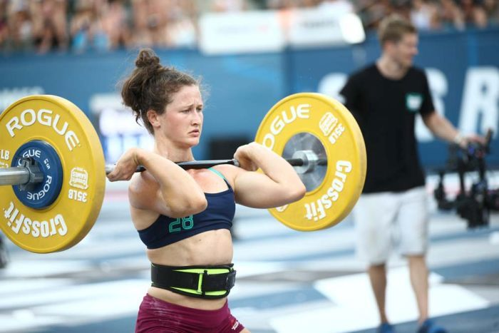 Tia-Clair Toomey will represent Australia in weightlifting at the Rio Olympic Games. (CrossFit Games)