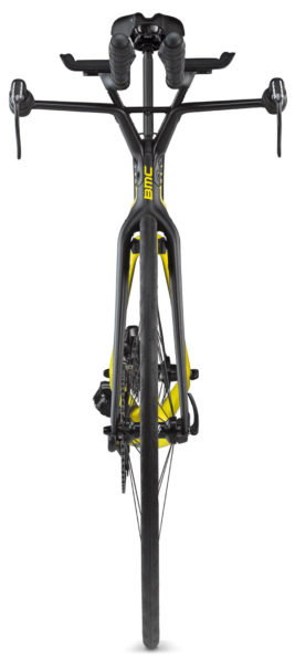 Timemachine's frontal profile is a narrow and seamless engineering marvel. (BMC)