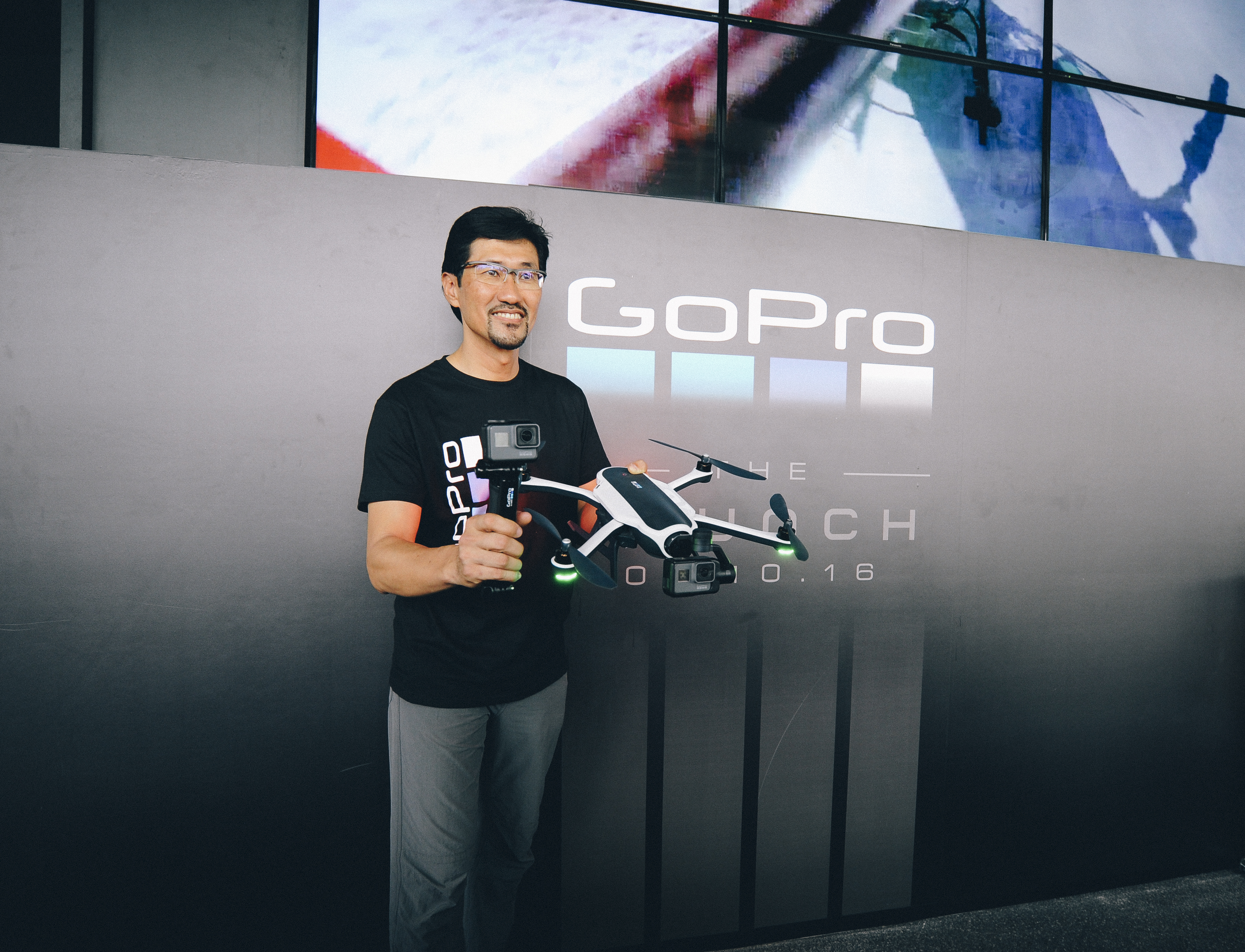 Go Pro excites with a brand new drone, Karma and waterproof Hero5.