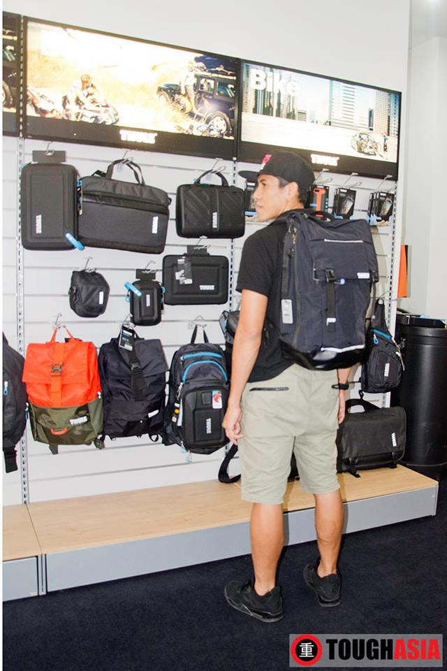 Thule's Paramount 29L will accompany Shahrom on his outdoor activities.