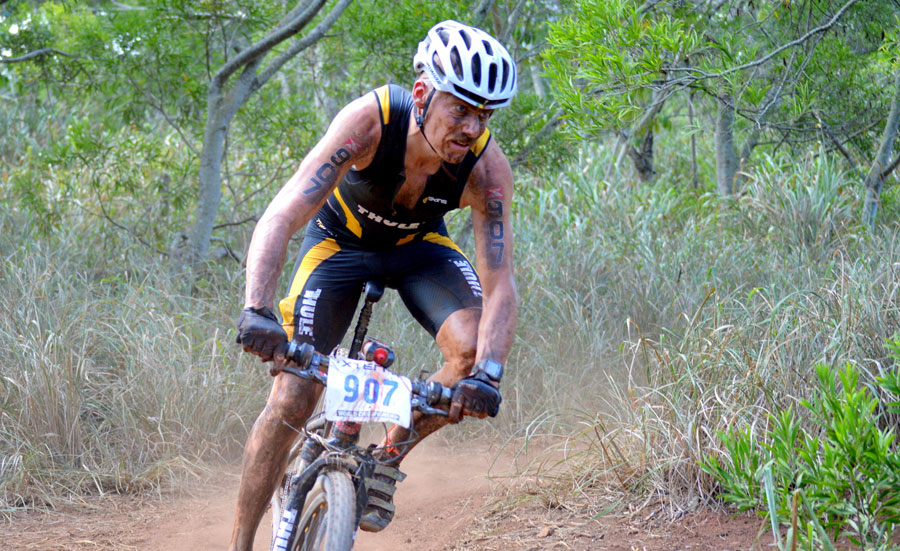Martin Flinta from Sweden, the reigning and two-time XTERRA 40-44 World Champ makes a return to the Xterra World Championship in Maui, Hawaii. (XterraPlanet)