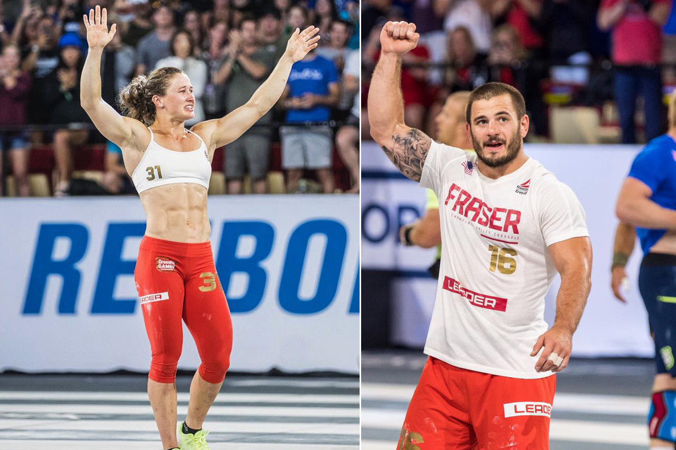 f3e92d2c Tia-Clair Toomey and Mat Fraser create historical wins at the 2017 Reebok CrossFit  Games