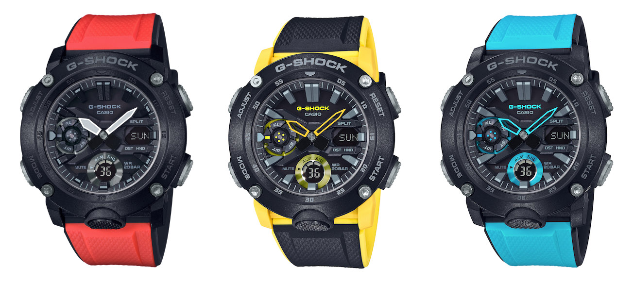 79f4312b75 Casio Malaysia launches new G-SHOCK with Carbon Core Guard ...