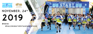 (INTERNATIONAL) Halong Bay International Heritage Marathon 2019 @ The Quang Ninh Planning, Fair and Exhibition Palace (Tran Quoc Nghien street, Hong Hai, Hon Gai, Halong city, next to the Museum and Library of Halong