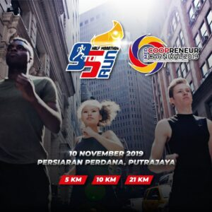 9to5 Run Half Marathon 2019 @ Persiaran Perdana Putrajaya